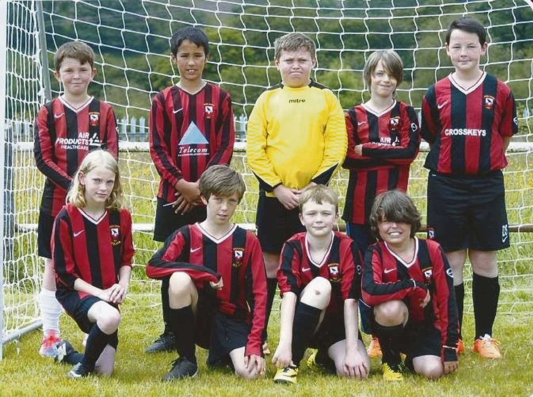 JOIN THE REAL TEAM: Dinas Powys Real Football Club is looking for U12s players for next season.