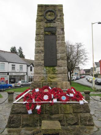 TRIBUTE: The Dinas Powys war memorial (8111494)