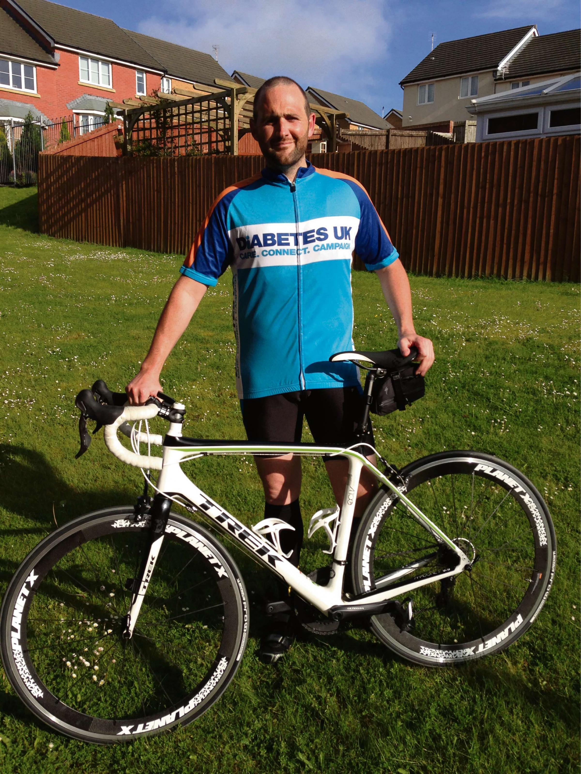Cyclist set for fundraising challenge in memory of mum
