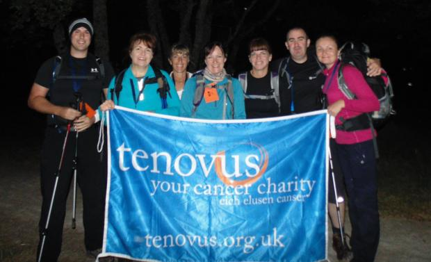 THREE PEAKS: A team of Barclays employees scaled the three highest peaks in England, Scotland and Wales
