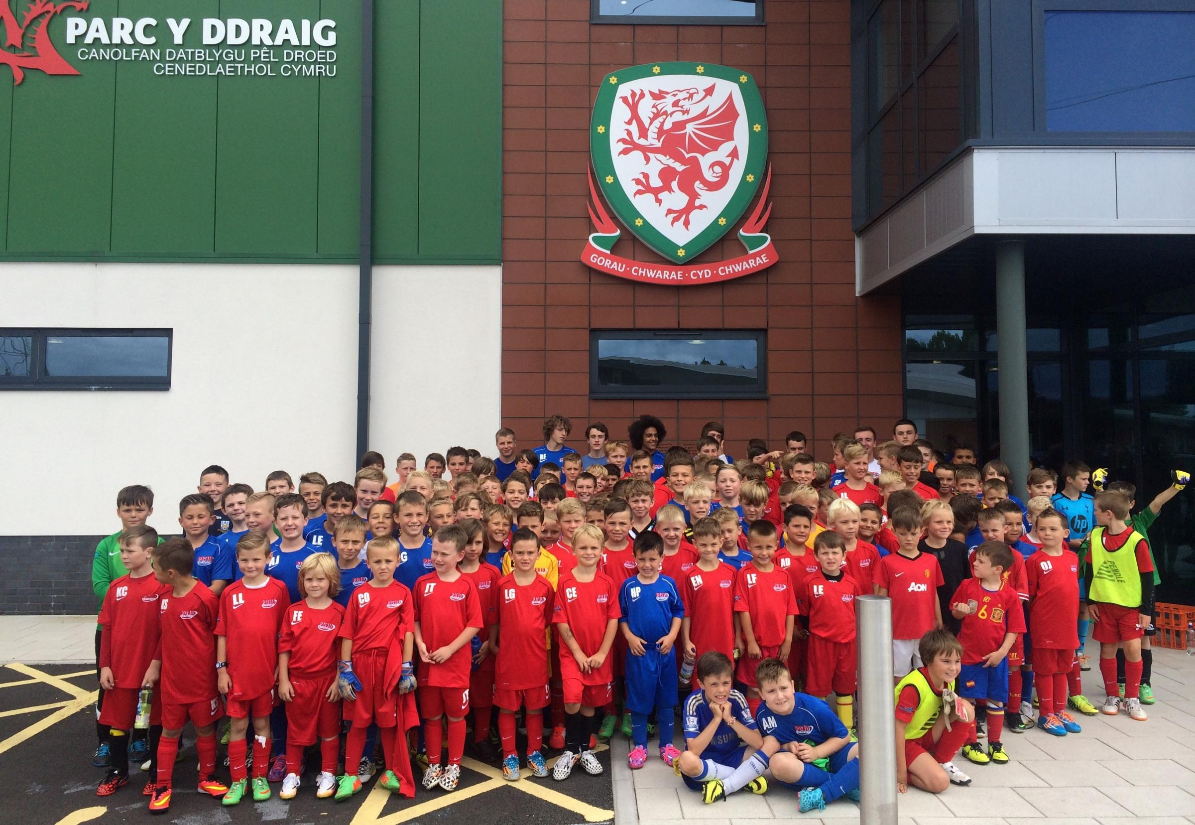 TRAINING: PG10 players at FAW Dragon Park