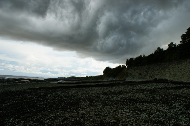 Storm clouds over Penarth