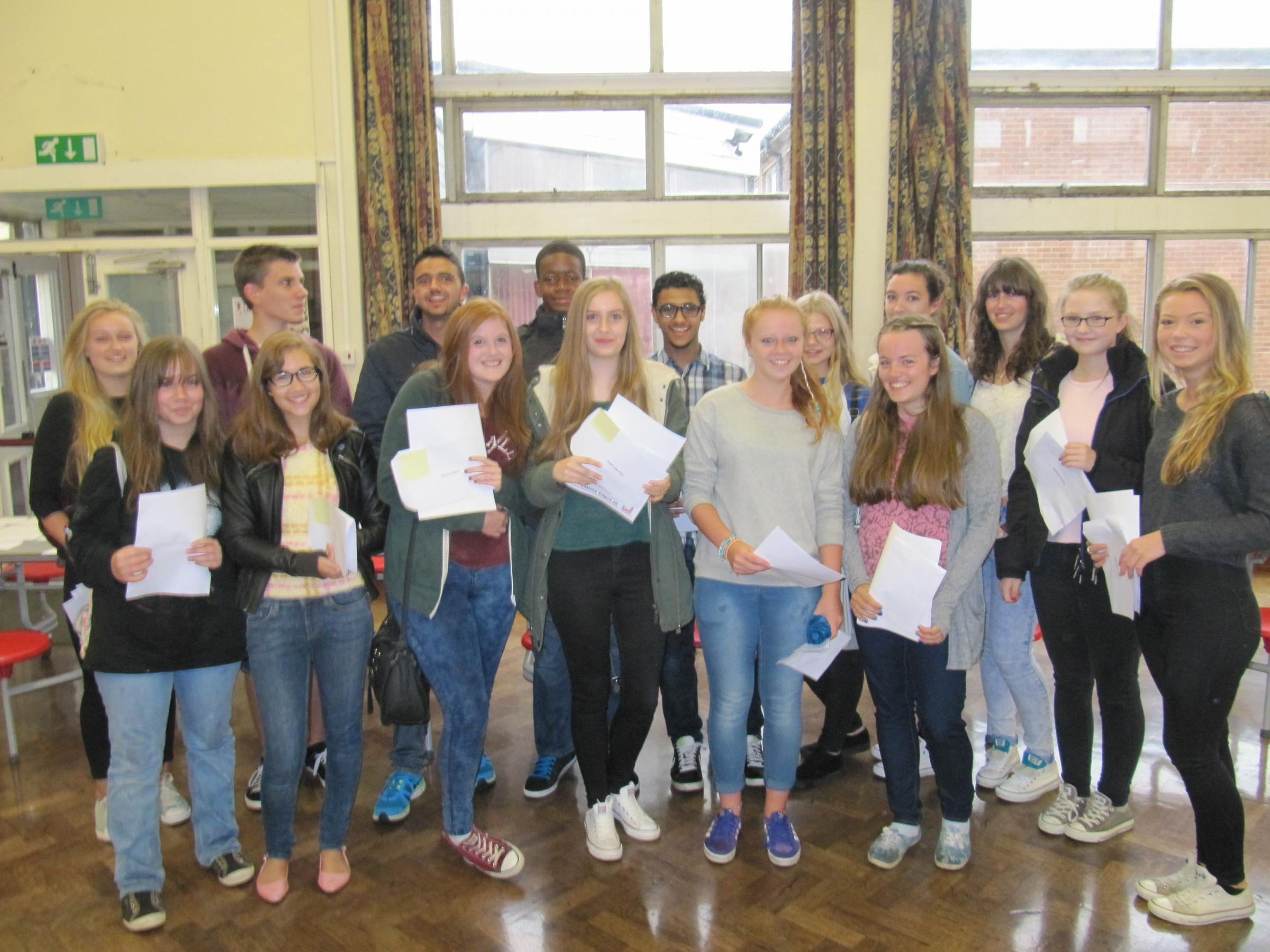 St Cyres School celebrates 'phenomenal' GCSE results in record breaking year