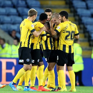 Shrewsbury produced one of the upsets of the night