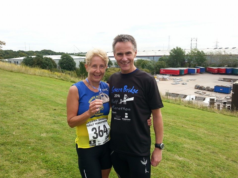 Runners tackle Severn Bridge Half Marathon and Triathlons