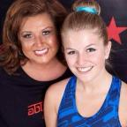 Penarth Times: DANCE: Lucy Sharpe with Dance Moms star Abby Lee Miller (10506272)