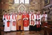 CELEBRATION: Canon Roger Williams recently celebrated the 40th anniversary of his Ordination as a Priest in the Church in Wales