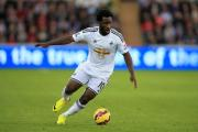 File photo dated 25-10-2014 of Swansea City's Wilfried Bony. PRESS ASSOCIATION Photo. Issue date: Wednesday January 14, 2015. Wilfried Bony has completed his reported £28million transfer from Swansea to Manchester City, according to the Ivory Coast Foo