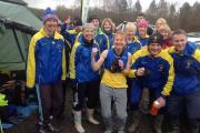 Runners drove and cycled to Aberdare for the last Gwent League cross country fixture but the race was cancelled