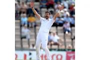 James Anderson, pictured, has moved ahead of Sir Ian Botham as England's all-time leading Test wicket-taker
