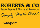 Roberts & Co - Newport (Sales)