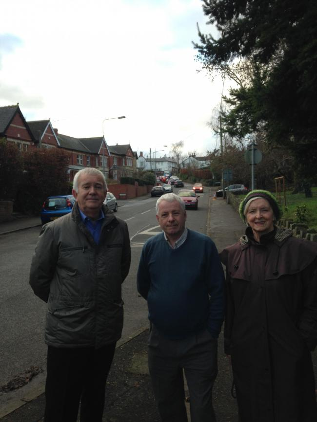 Councillors Hatton, Franks and Hartrey are calling for more to be done over the speeding issue on Mill Road after concerning survey results