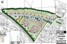 The plan submitted by the United Welsh Housing Association for 70 houses just off Caerleon Road (52842040)
