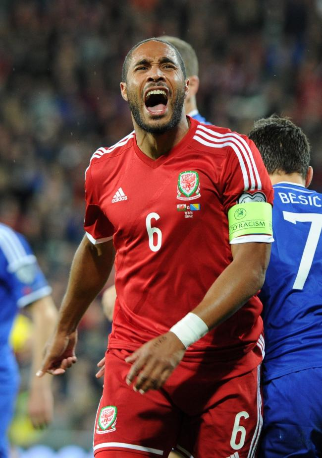 MISSING: Captain Ashley Williams has been left out of Ryan Giggs' Wales squad