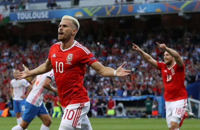 OUT: Juventus midfielder Aaron Ramsey will miss Wales' Euro 2020 qualifier against Azerbaijan next month