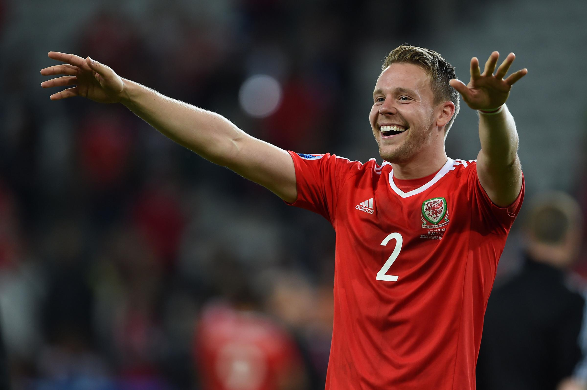 AWARD: Newport's Chris Gunter