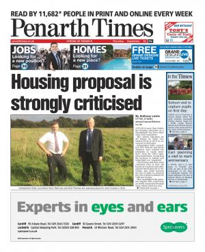 Penarth Times: Councillors blast plans to more than double housing allocation at Cosmeston
