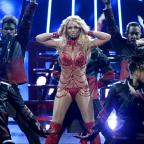 Penarth Times: Britney Spears admits to getting 'contact high' on stage