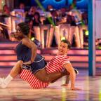 Penarth Times: Celebs can't get enough of Strictly Come Dancing - see Michelle Heaton's adorable dance with her son