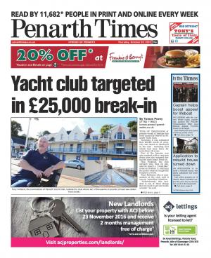 Penarth Times: Tens of thousands of pounds worth of lead stolen and damage caused at yacht club