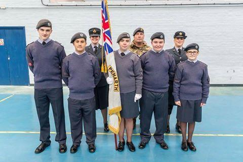 Air Cadets took part in a parade celebratin the 76th anniversary of the Air Training Corps forming