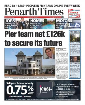 Penarth Times: Pier pavilion management receives £126k grant for advice on business plan