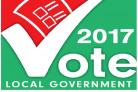The local government elections are taking place today