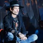 Penarth Times: Johnny Depp duetted with Kris Kristofferson at Glastonbury