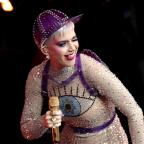 Penarth Times: Katy Perry joins crowd at Glastonbury