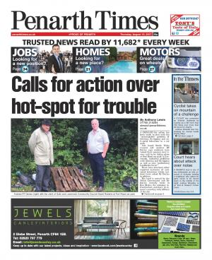 Penarth Times: Demand for action over littering, fly-tipping and anti-social behaviour in Welsh Government owned Lavernock car park