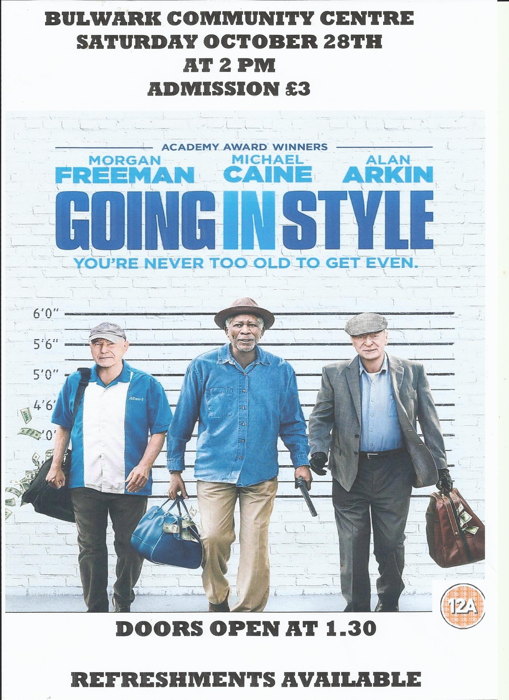 Film: Going in Style