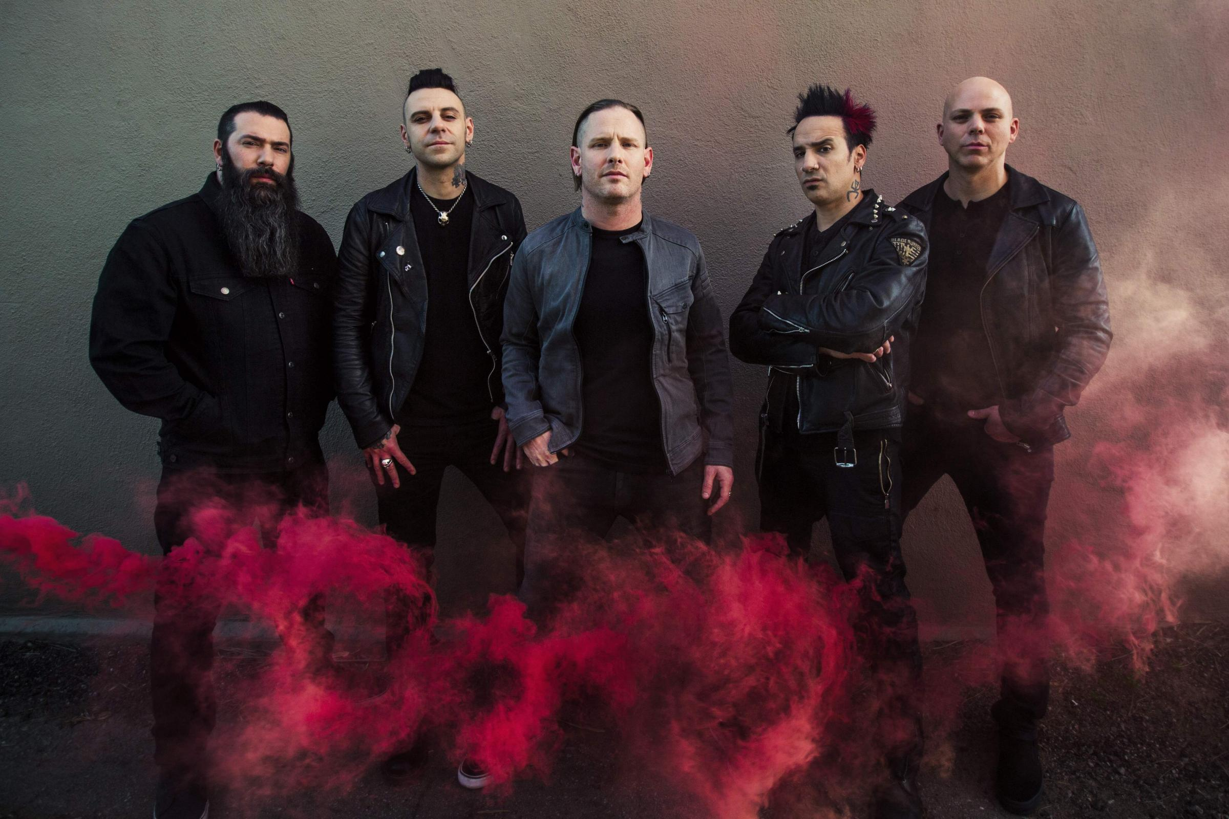 VIDEO: Stone Sour. Picture: Travis Shinn