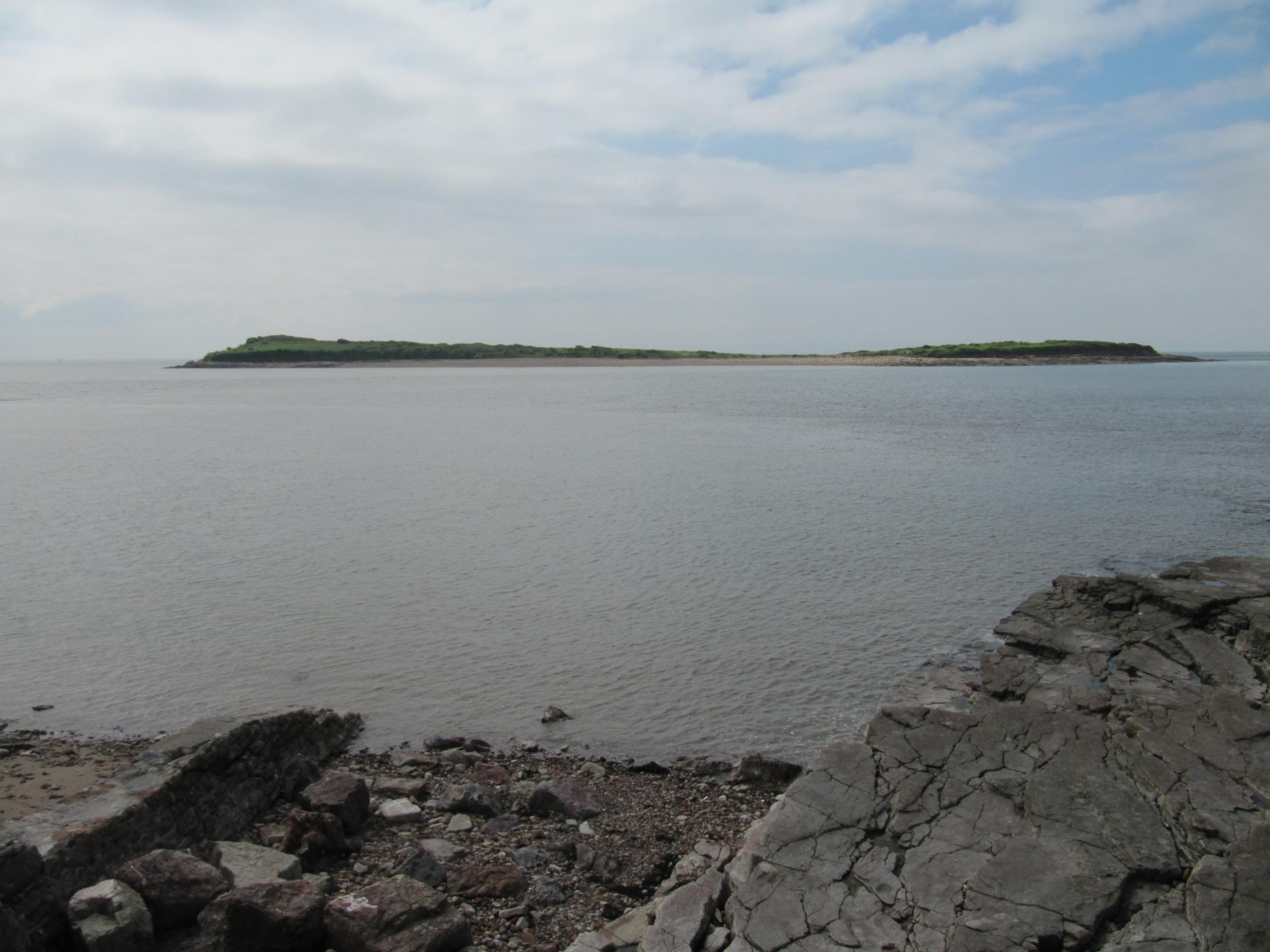 DANGER: The Sully Island causeway has the second highest tidal range in the world (7278012)