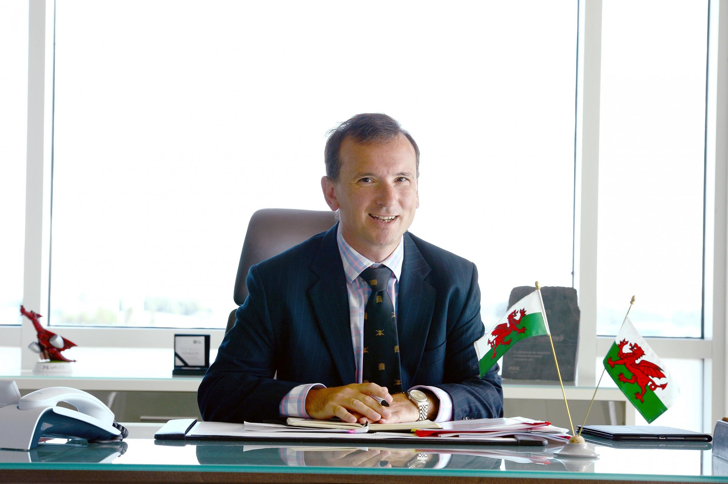 Secretary of State for Wales Alun Cairns.