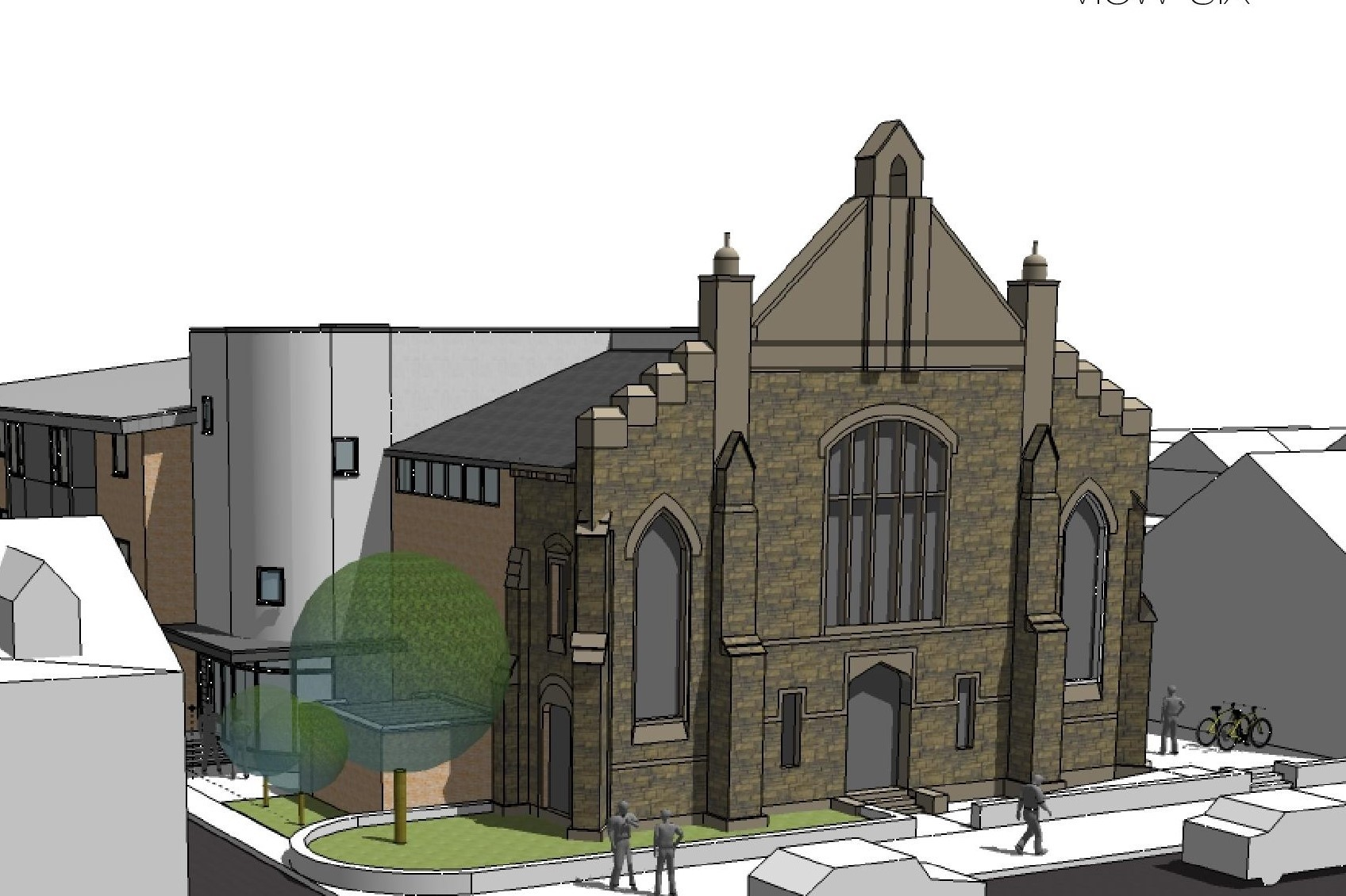 The plans for St Paul's Church on Arcot Street
