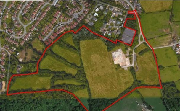 The development on the former St Cyres School site will accomodate 215 new homes