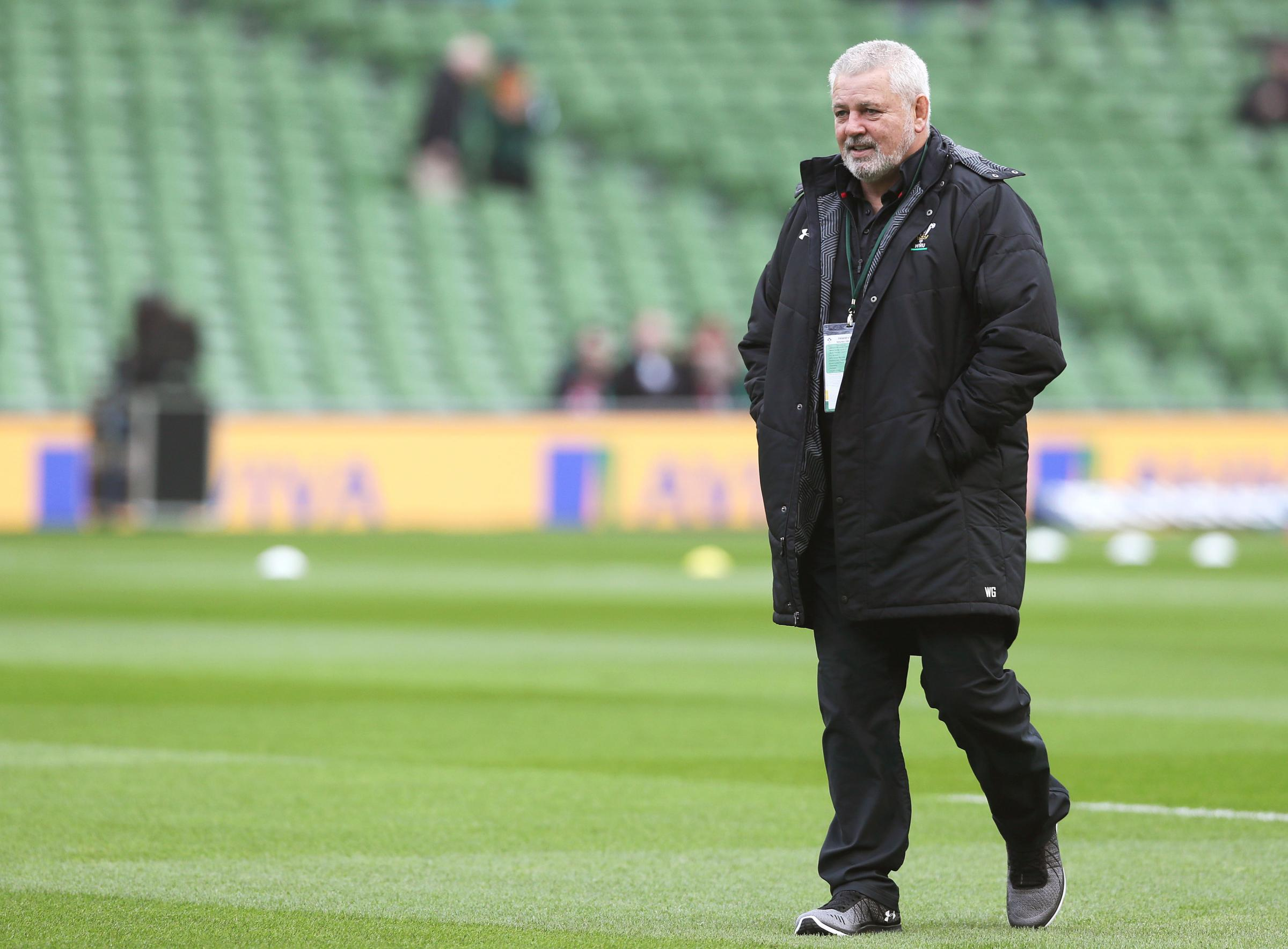 Gatland set to tinker for Wales' date with Italy