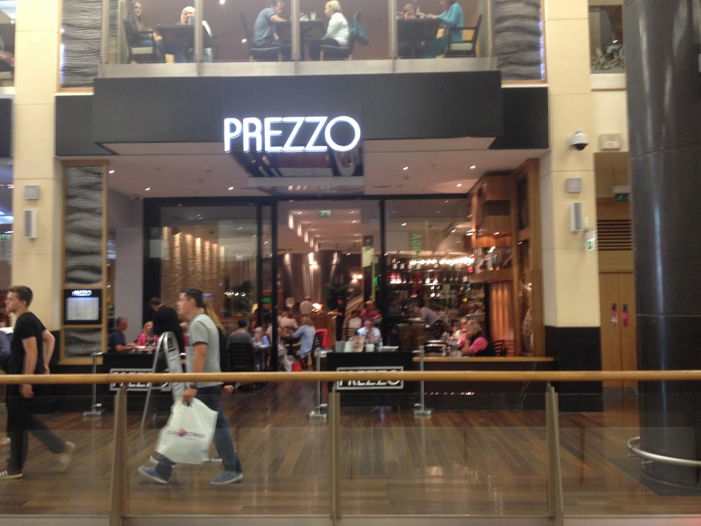 Prezzo in Penarth is being shut down in an effort to save the firm