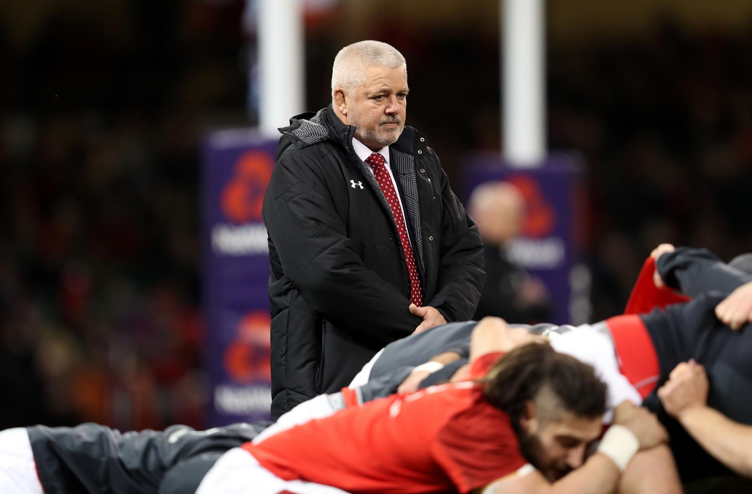 Wales boss Gatland happy to win ugly and secure second place