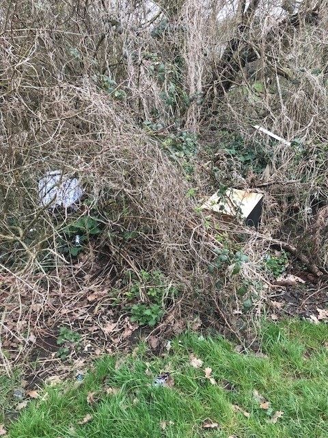 Fly tipping has become a regular issue in Cogan