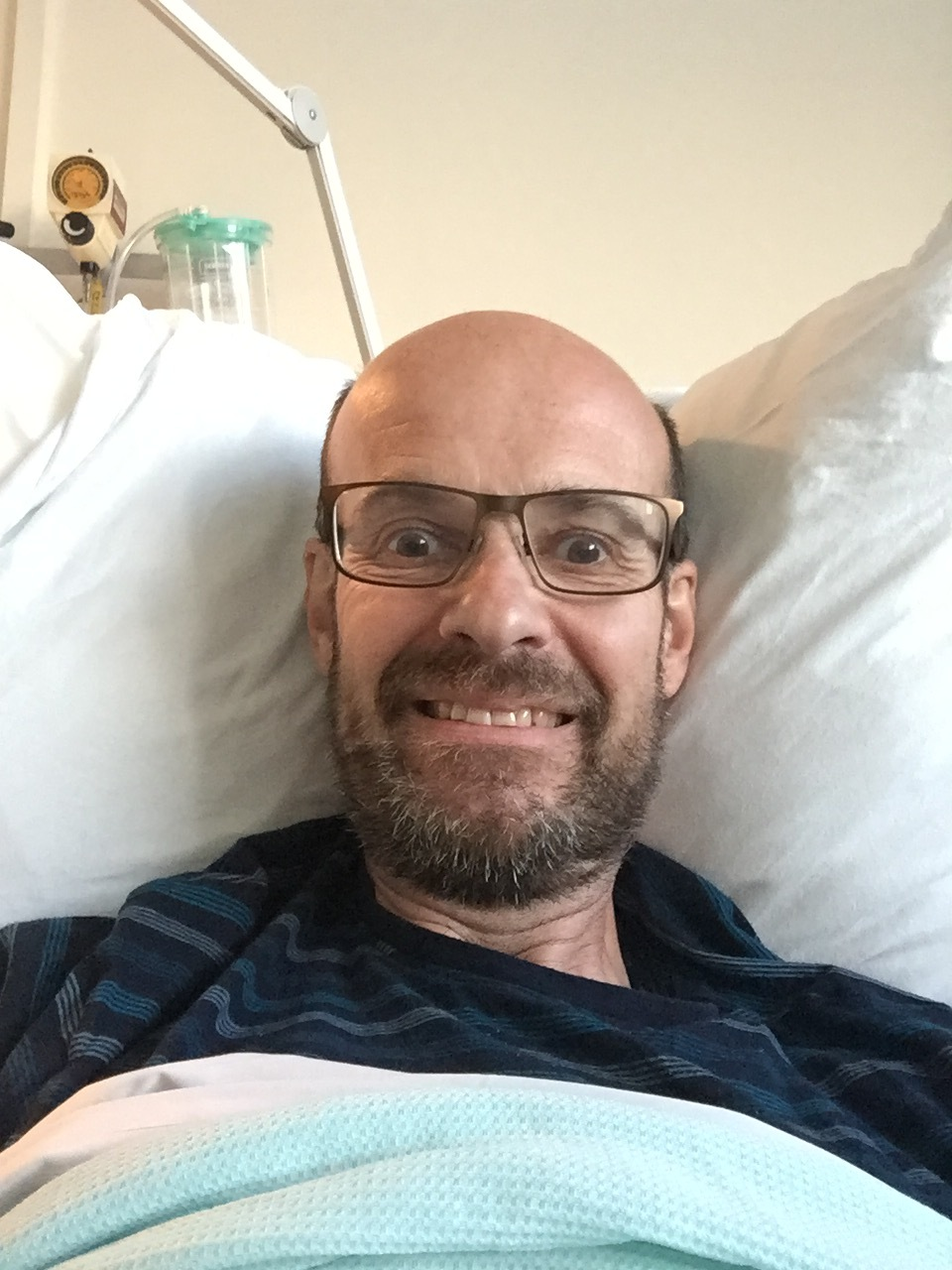 Stage four bowel cancer sufferer recounts his story