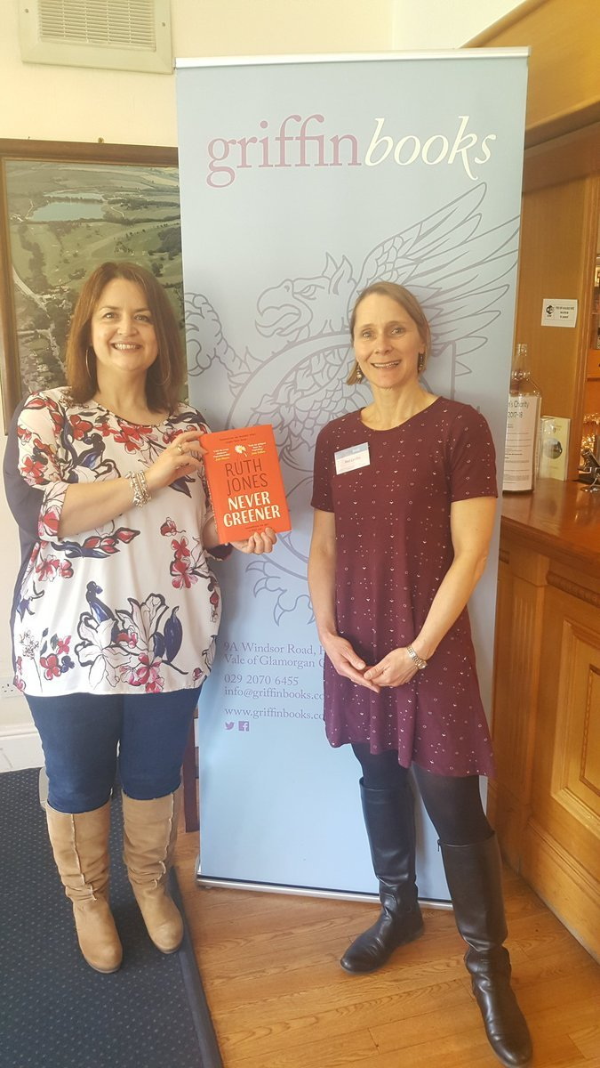 Ruth Jones with Mel Griffin of Griffin Books