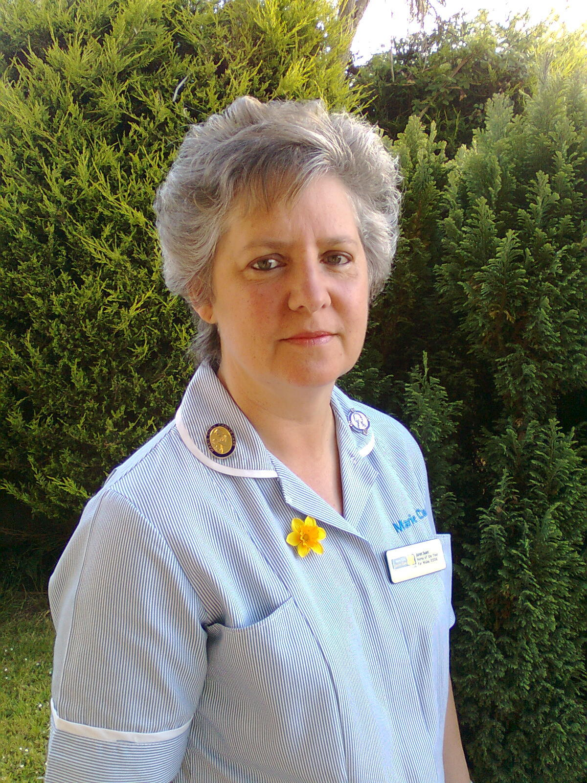 Janet Suart who recently retired from Marie Curie