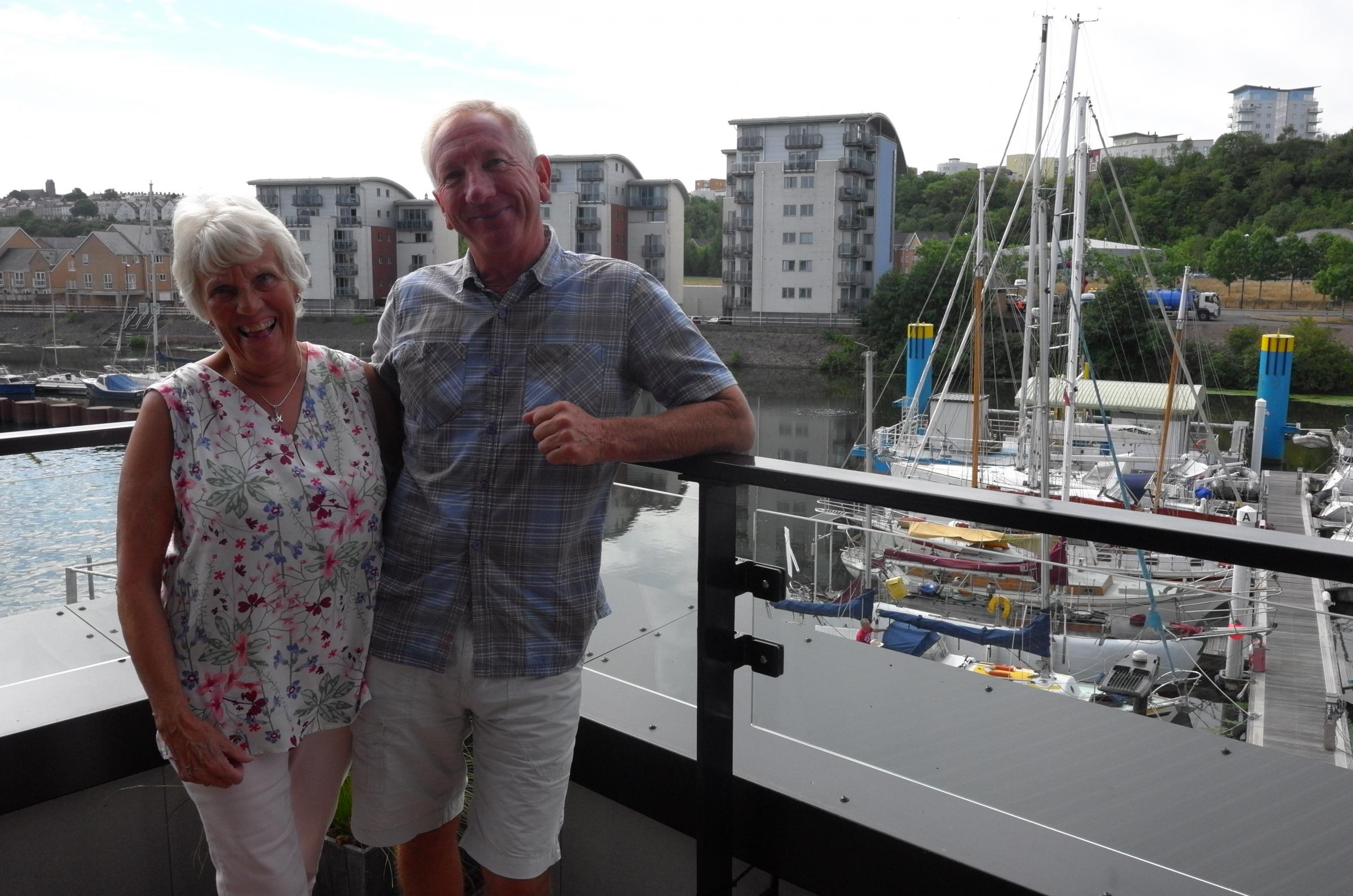 Former Cardiff Marina boatyard owner gets new home
