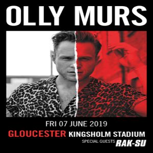 Olly Murs at Kingsholm Stadium