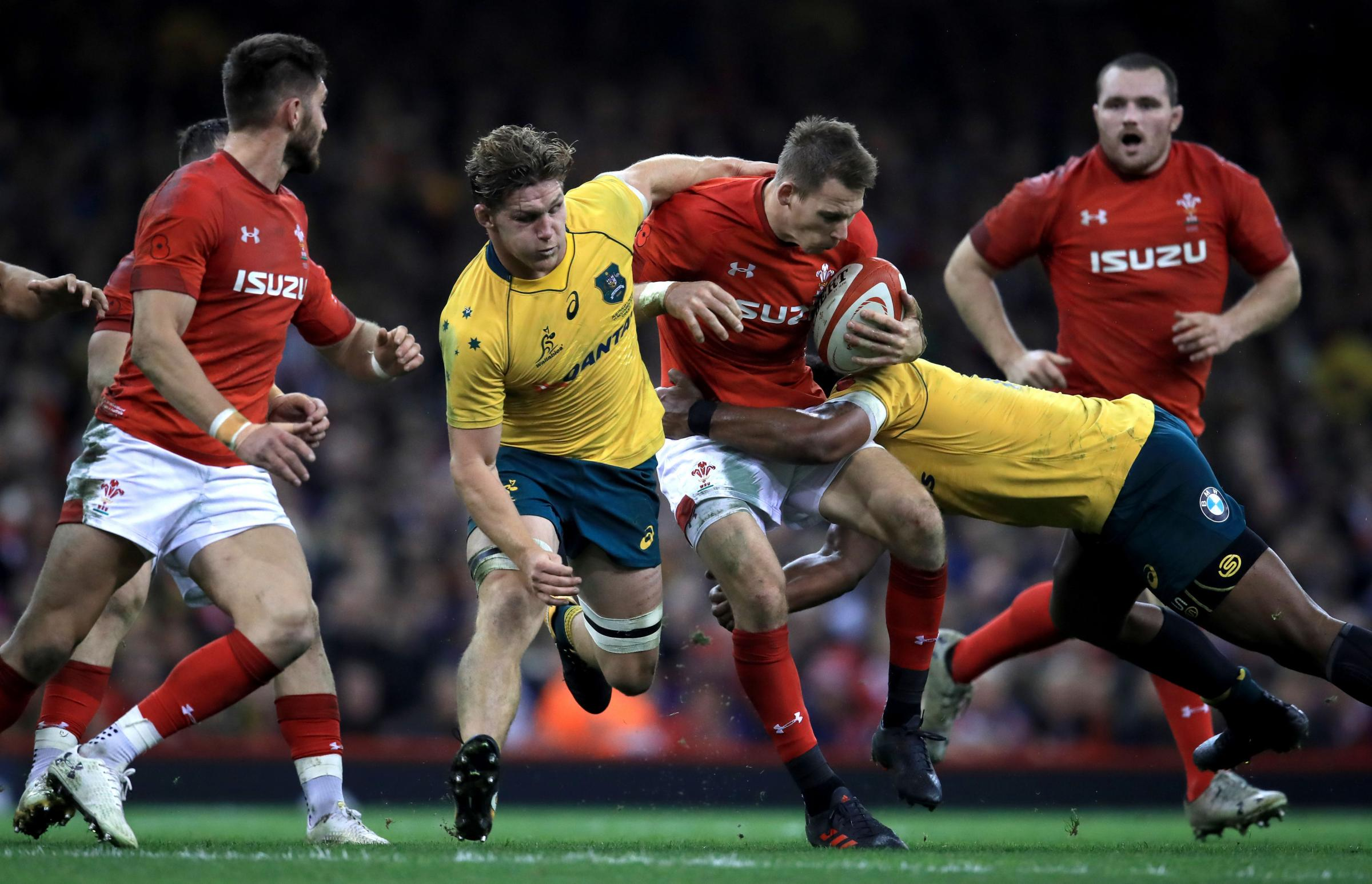 READY AND WAITING: Lions full-back Liam Williams will come off the Wales bench against Australia