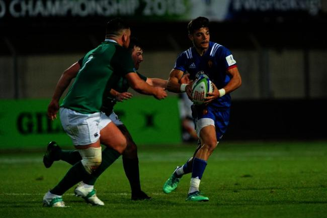 NOVICE: Romain Ntamack, pictured in the World Rugby U20 Championship, will make his France debut (Pic: WORLD RUGBY)