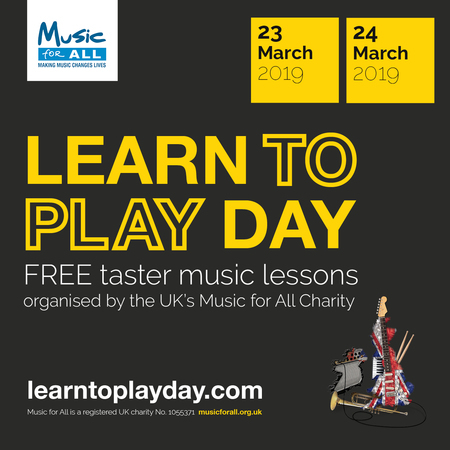 Learn to Play Day is coming to Wales