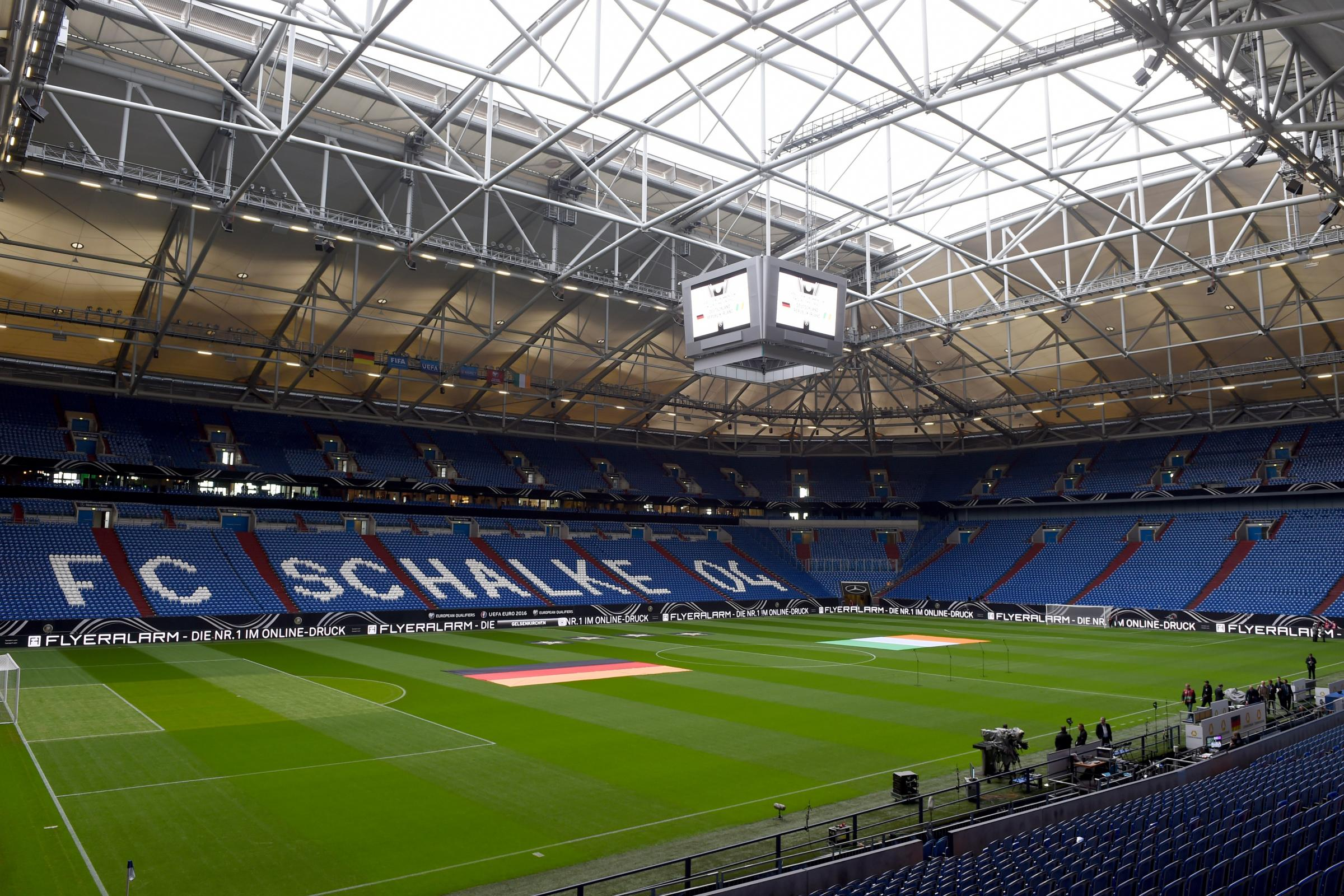A Manchester City supporter is in a critical condition following an incident after Wednesday's game at Schalke