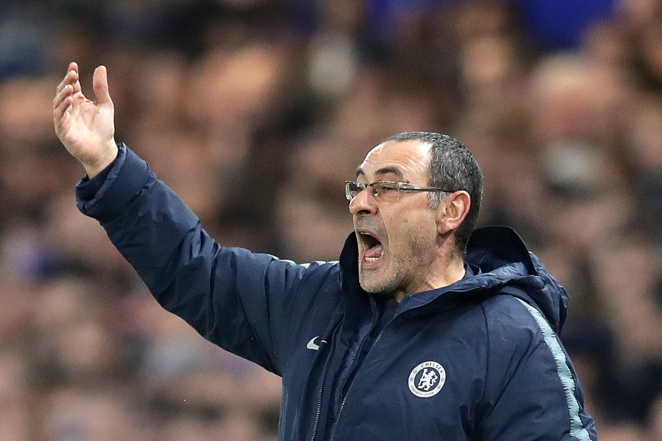 Maurizio Sarri's Chelsea advanced in the Europa League with a victory over Malmo